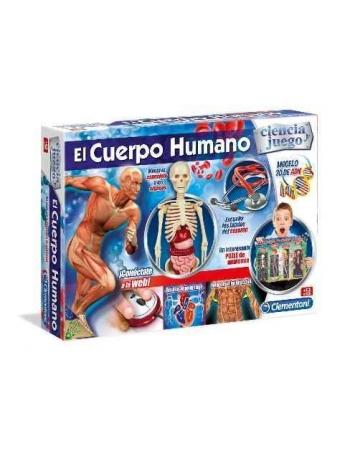 Juego Educativo CLEMENTONI El Cuerpo Humano